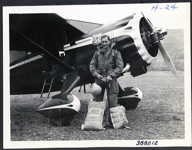 Francis Lufkin - First jump 1939