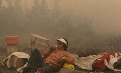 Kicking back in the smoke - 1974
