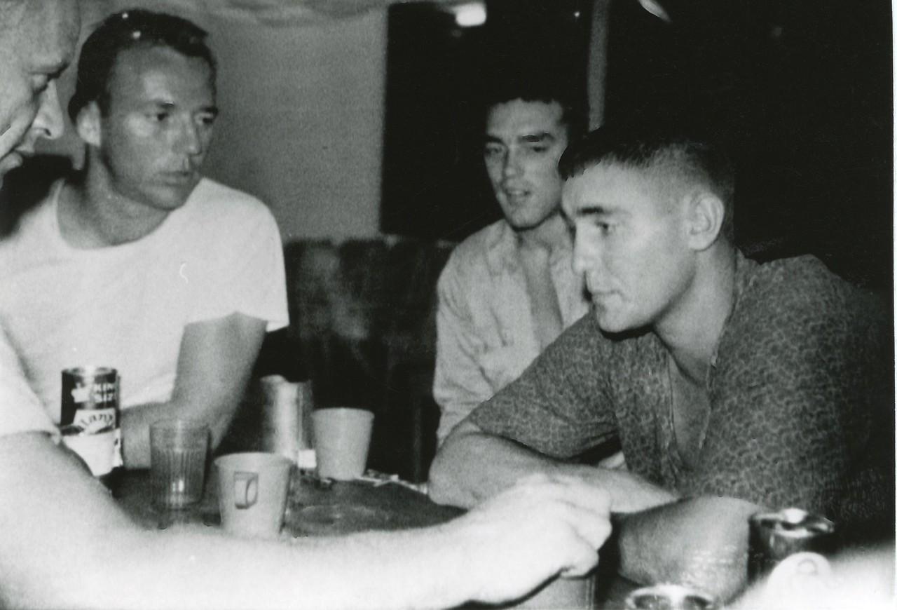 Richard Peterson, Miles Johnson, Mike Oeklerick, Jerry Daniels