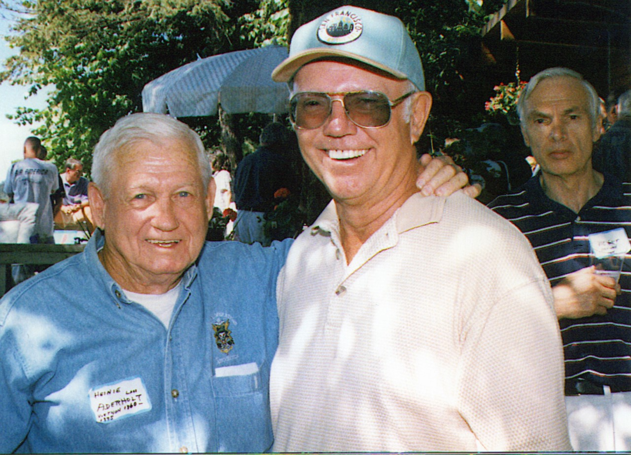 "1st Lao Reunion; Flathead Lake Montana 1997 (Shep Johnson, Heinie Aderholt, Richard ""Paperlegs"" Peterson, Miles Johnson"