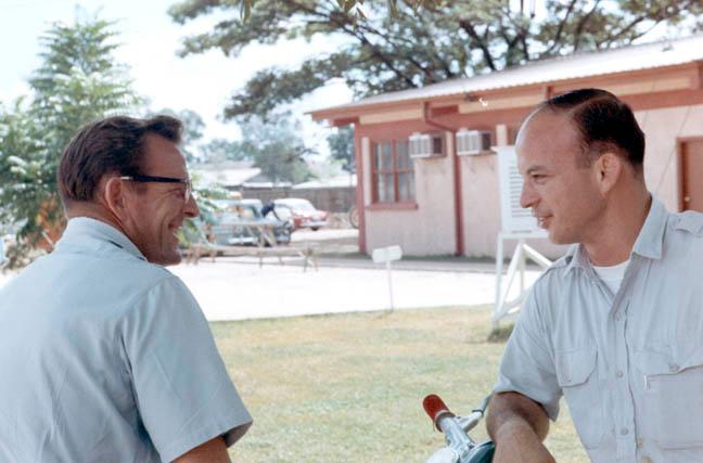 Lou Banta and Bob Hearld