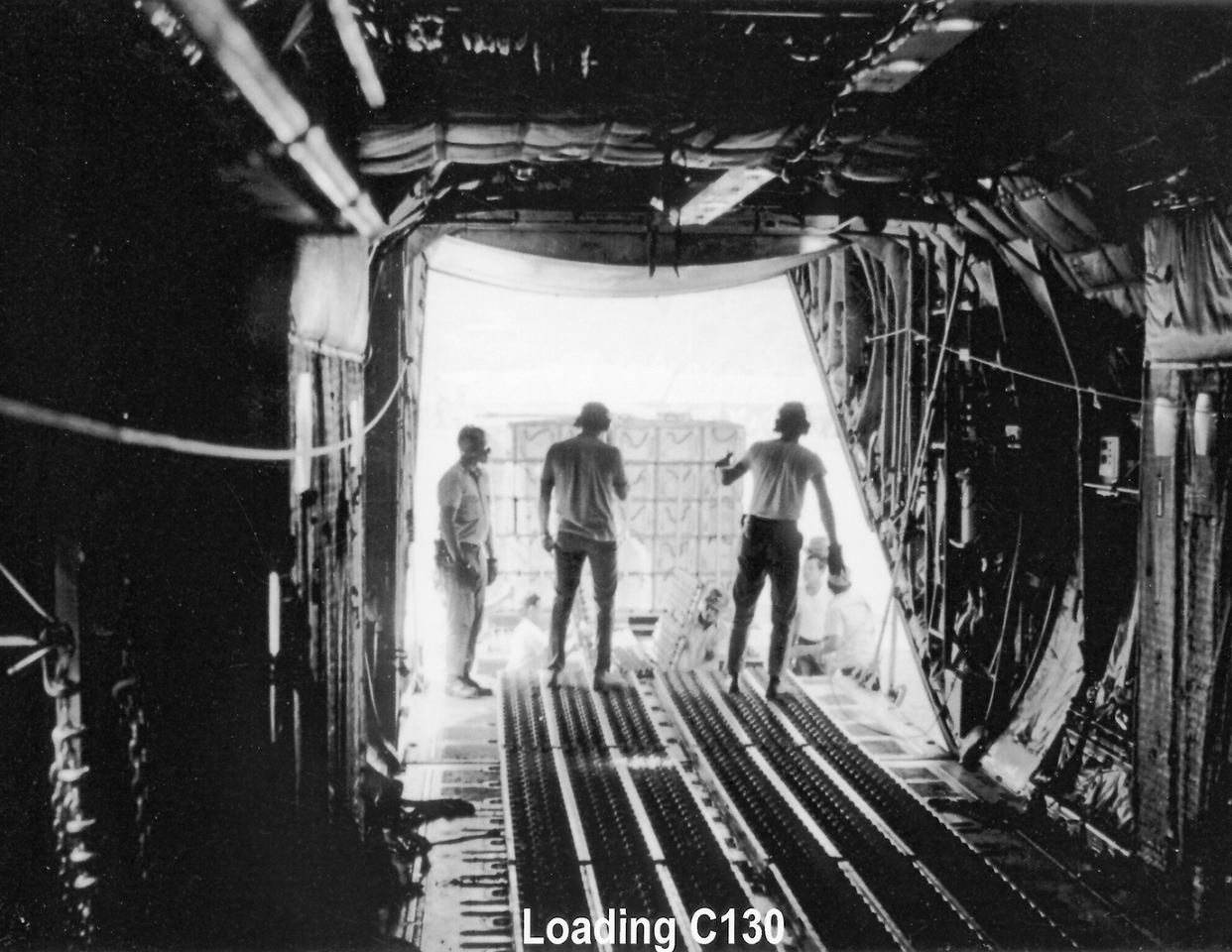 Barry Reed - Loading C130