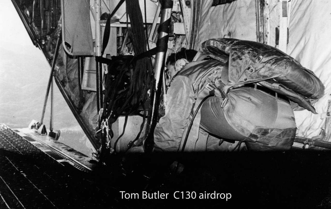 Tom Butler - C130 Airdrop