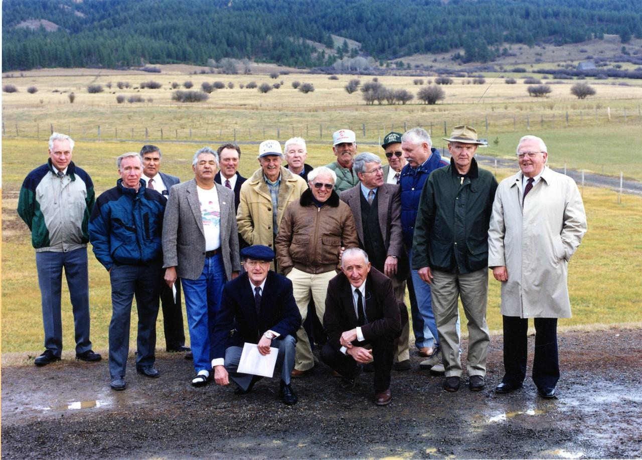 Miles Johnson's Memorial Service 1997