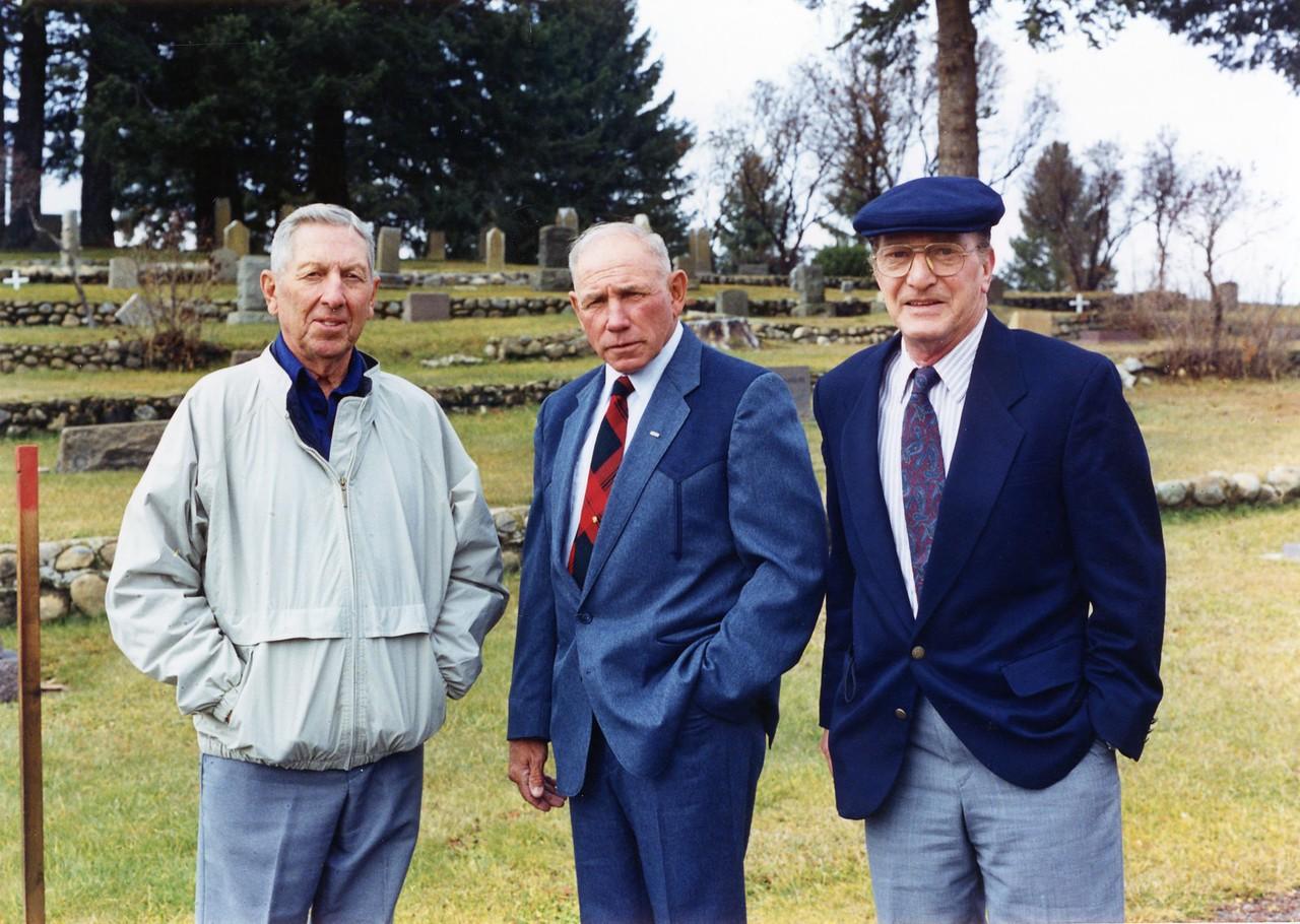 Ken Smith's funeral 1997