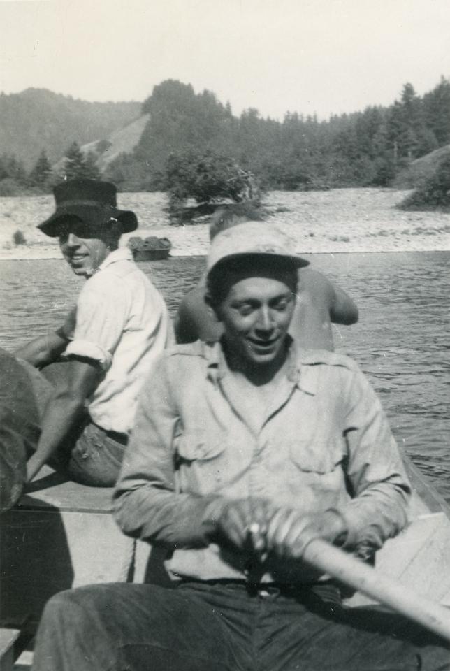 """Borrowed Boat"" 1949"