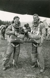 Right: Dick Flaharty (MSO-44) and Left: George Leavitt (MSO-44)