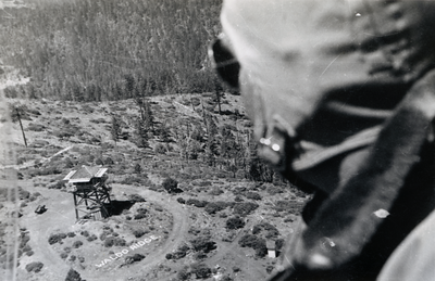 Waldo Lookout; Cave Junction; 1949