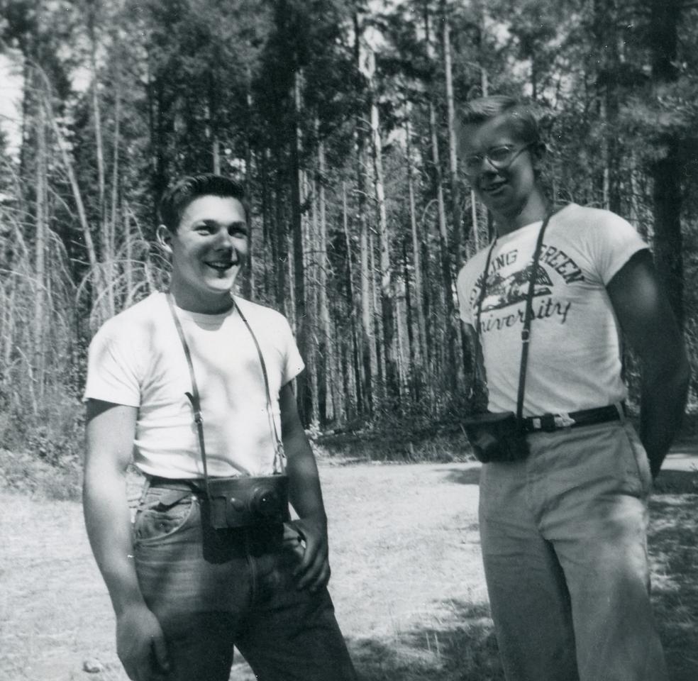 L-R: Fred Michelotti (CJ-49), Roger  Wolfertz (CJ-48)