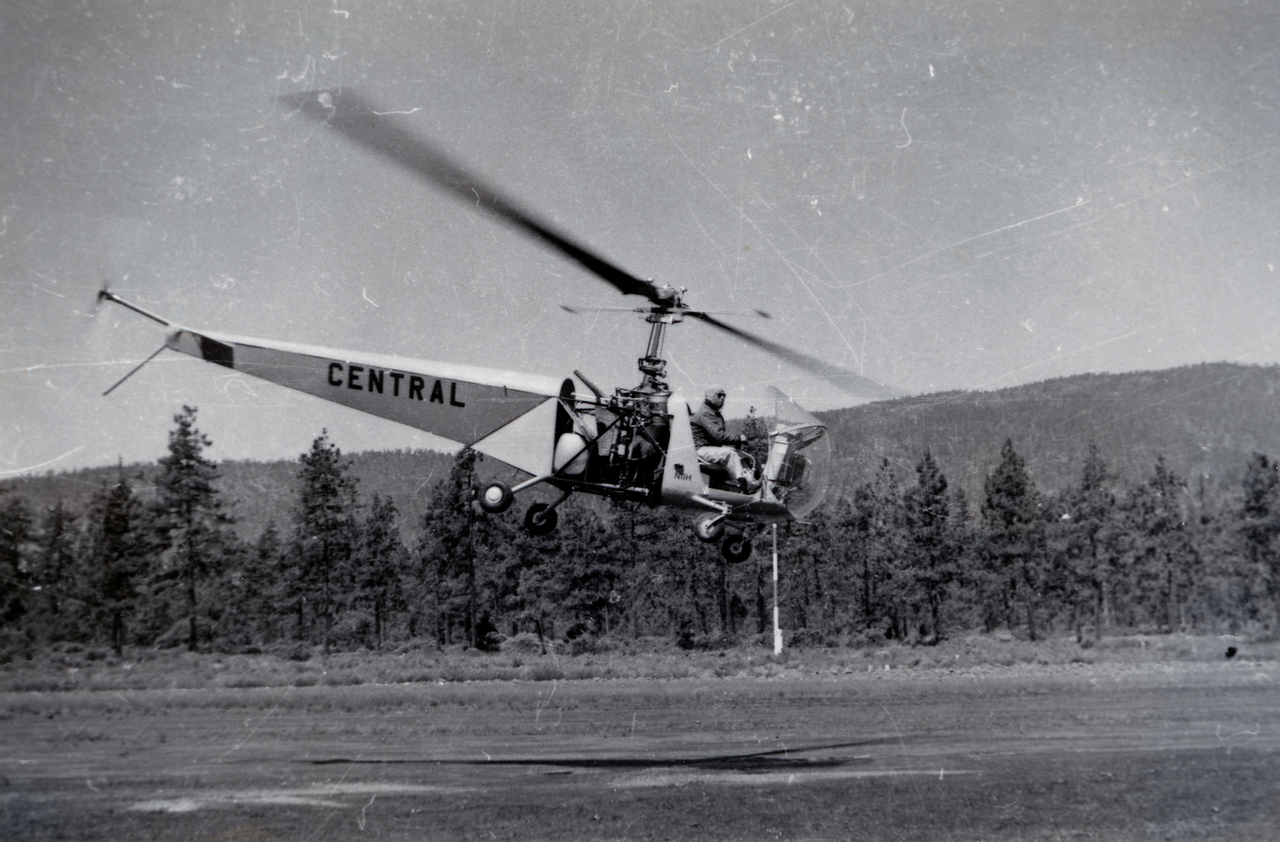 Bell 47 Contract Helicopter used for training; 1949
