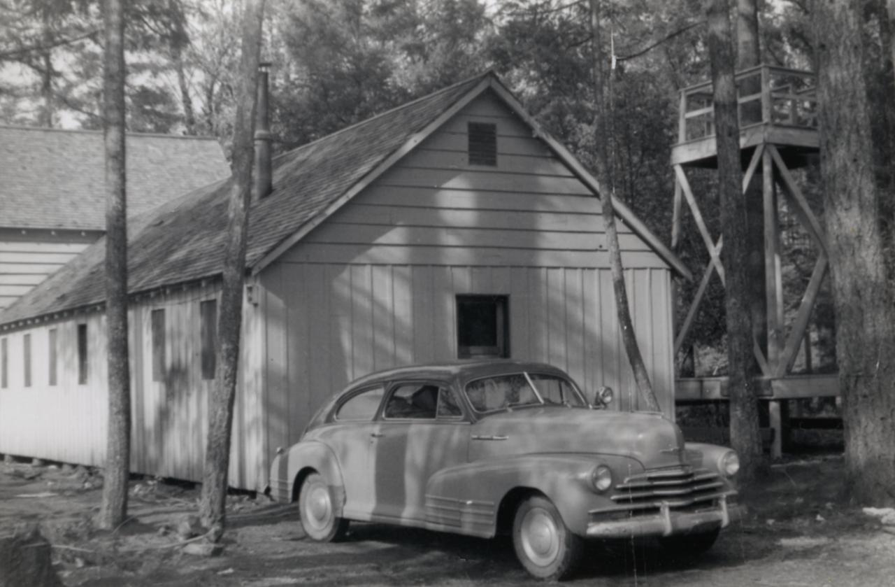 Cave Junction - Back of Old Loft; 1952