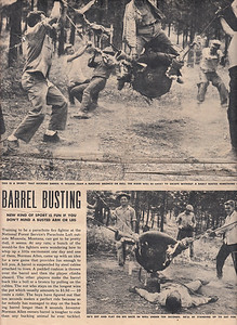Barrel Busting (1 of 2) - 1953
