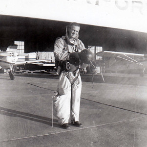 Redding Smokejumper Phil Collins. 1959.