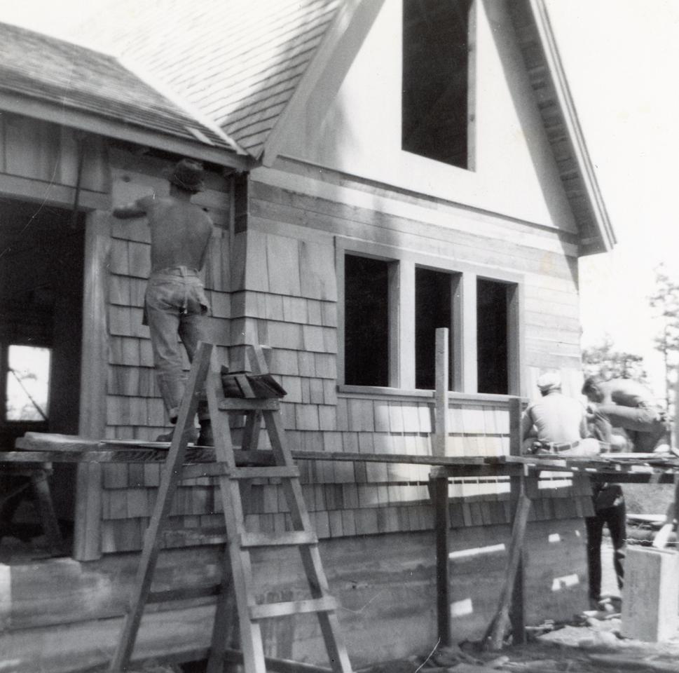 CJ Parachute Loft Construction; 1950