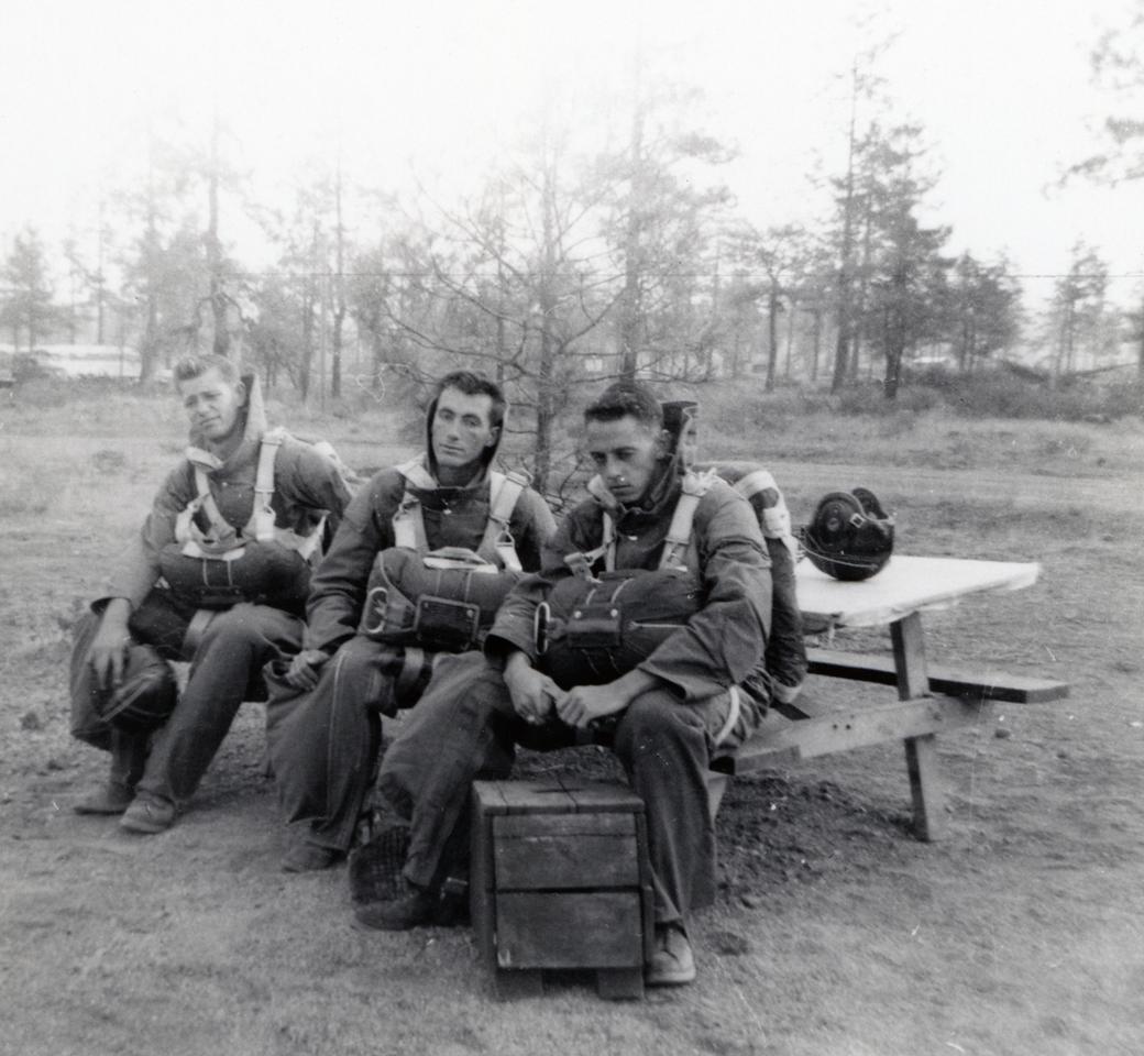 Phil Clarke (CJ-51), Capp Rowley (CJ-51), Al Boucher (CJ-49); 1952