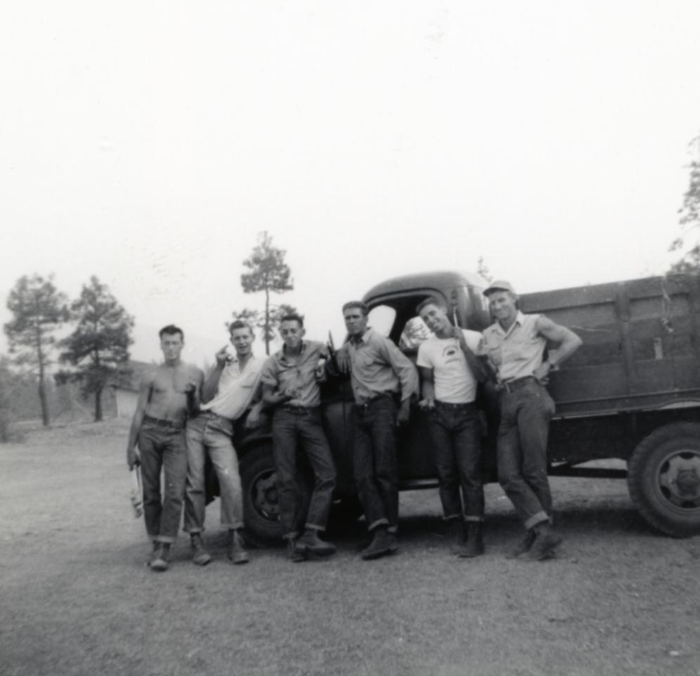 Work Crew; 1952