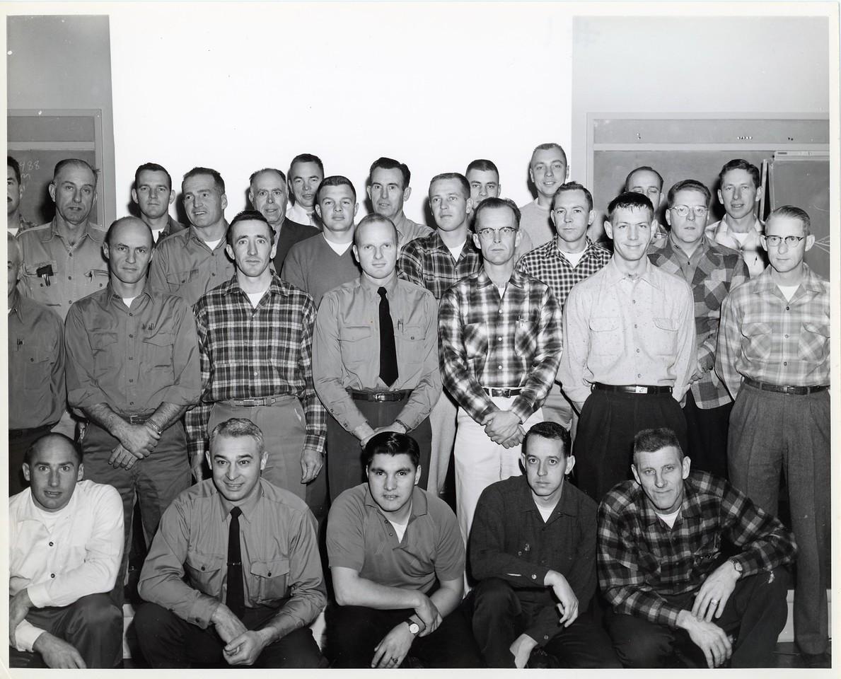 Fall 1968 USFS/lntermountain Aviation training Marana, Arizona 1939-1950 jumpers