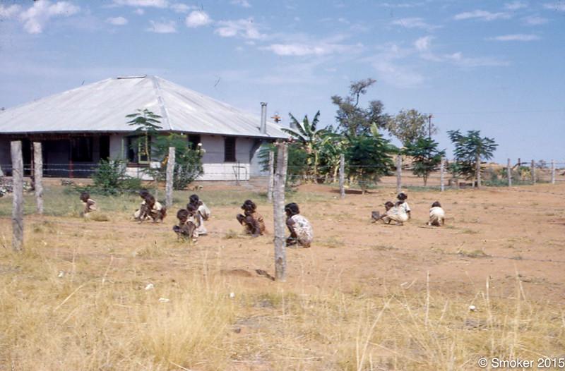 1955 Kids playing