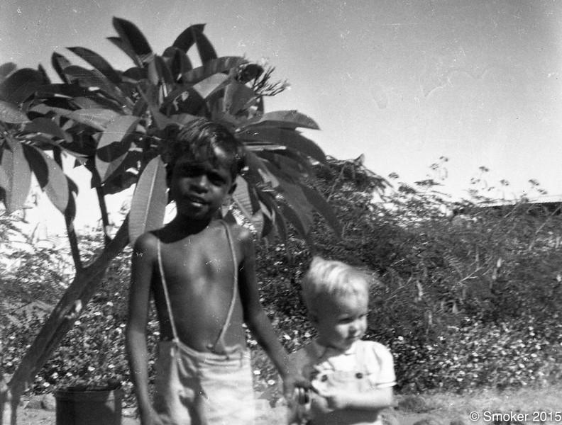 1954  Colin Divine and Joel Smoker