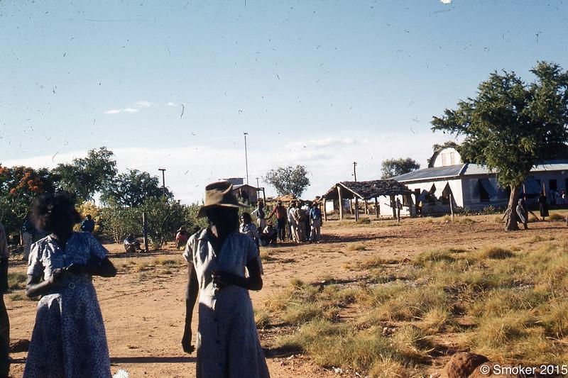1956 Mission, girls hostel in background