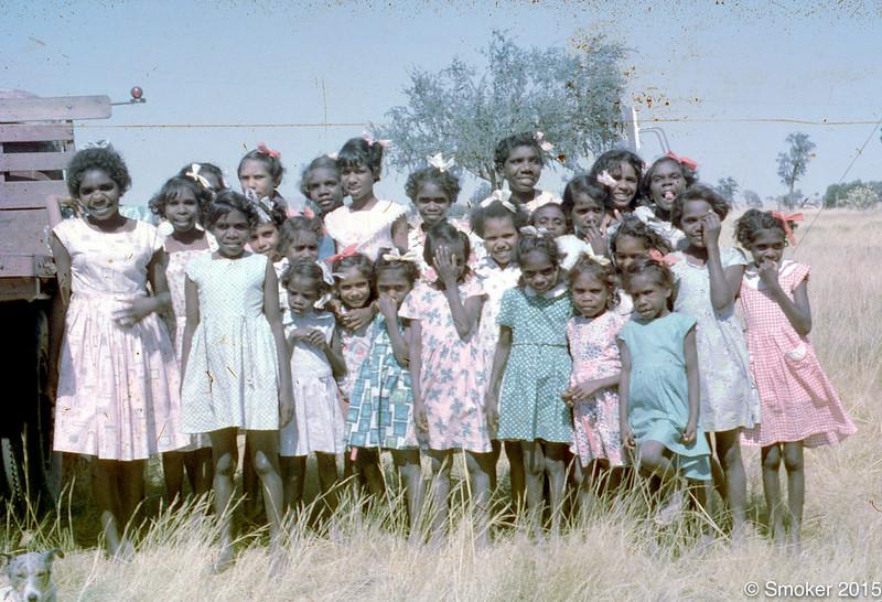 1957 Girls hostel girls.