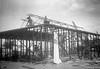 1955 Girls hostel being built