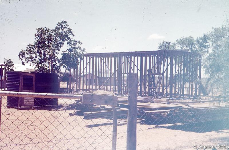 1954, Boys Hostel being built