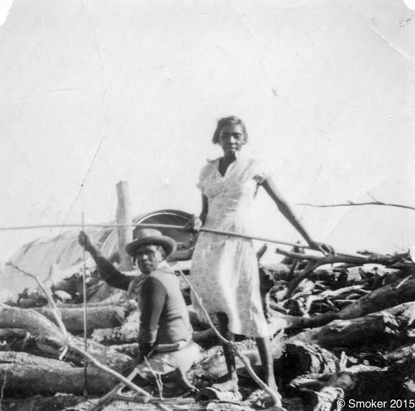 1953 Micky Murtyai and Shirley Holmes