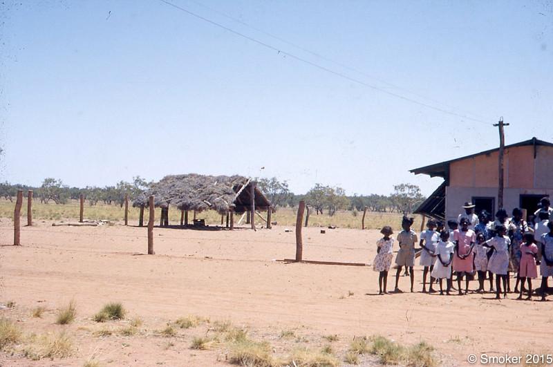 1953 First school built in Fitzroy Crossing