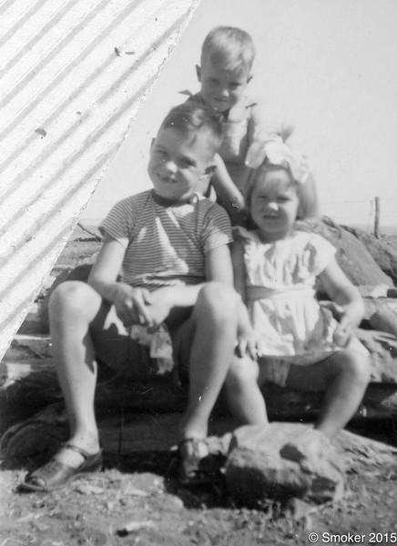1954 Walker children