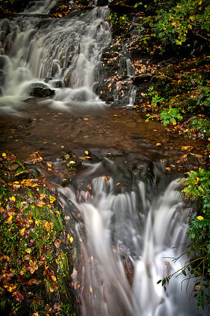Cascades in the Great Smokey Mountains.