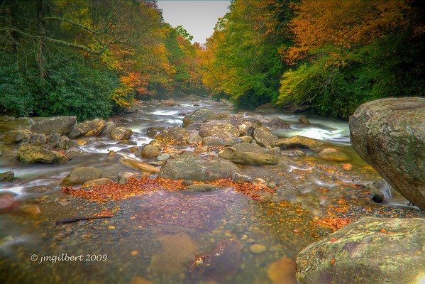 Fall 2009: Bracketed and process as HDR in Photomatrix.