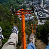 Gatlinburg, TN, from a sky lift.