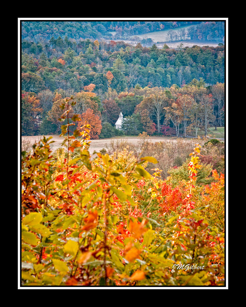 NJG3389: The church in the background.  This is probably one of the most photographed views in Cades Cove.