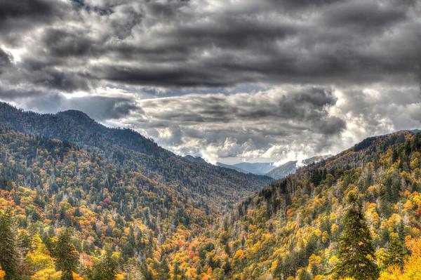 Smokey Mountains Oct. 2013