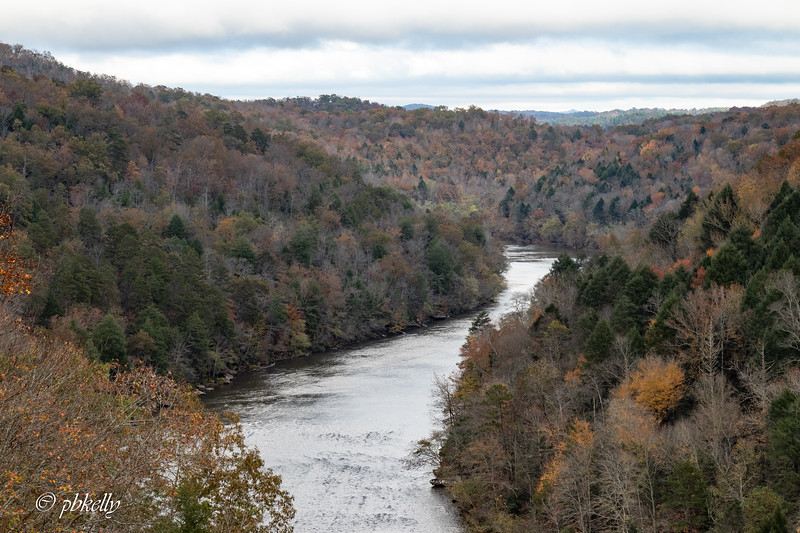 102920.  The first stop on my trip is usually Cumberland Falls State Park in Kentucky.  This is the view from the Lodge.  Probably one of the reasons I stay there.