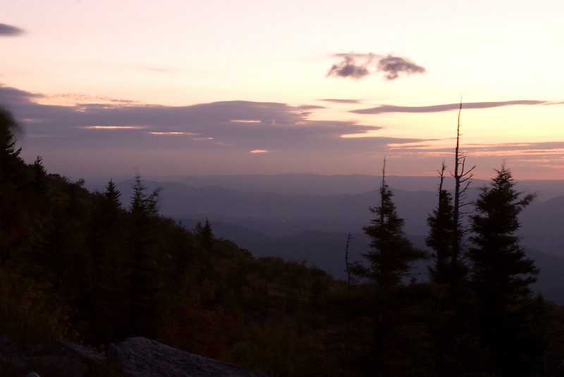 Before Sunrise at Dolly Sods.