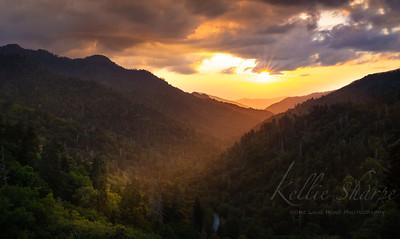 Sunset Morton's Overlook