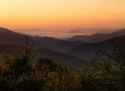 Pre-dawn Balsam Mountain