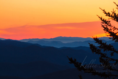 Sunrise at Clingmans Dome. April 1, 2019