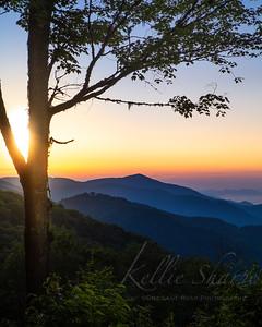 Sunrise Balsam Mountain