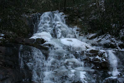 Laurel Falls Frozen