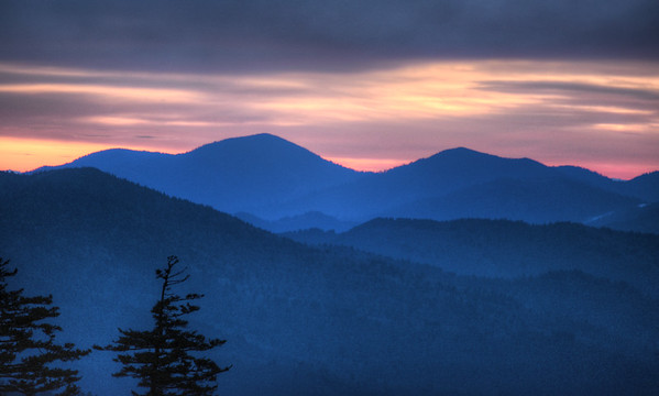 Smoky Mountains in the Spring