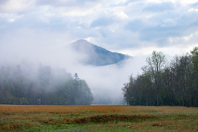 Fog in the Cataloochee Valley
