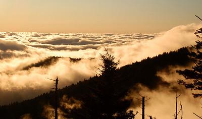 Smoky Mountains - Clingman Dome Sunset