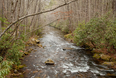 Cataloochee Creek, Cataloochee area of the Great Smoky Mountains National Park.