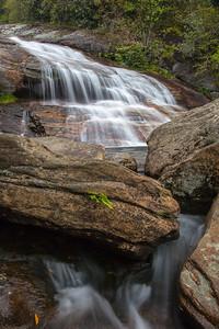 Second Falls, Yellowstone Prong at Graveyard Fields, Blue Ridge Parkway NC