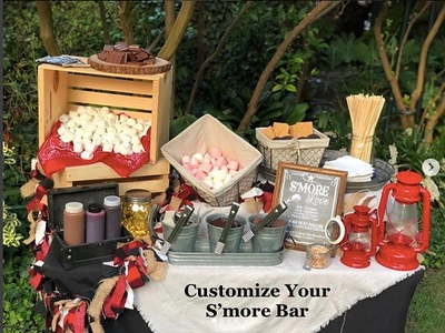 Customized S'more Bar