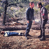 "03/02/2013:<br /> Filming a scene from ""Capture"" up in Big Bear.  We had a great cast and crew with us today!"