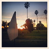01/21/2013:<br /> Sunset over the golf course.  Helps with the beautiful weather in Los Angeles.